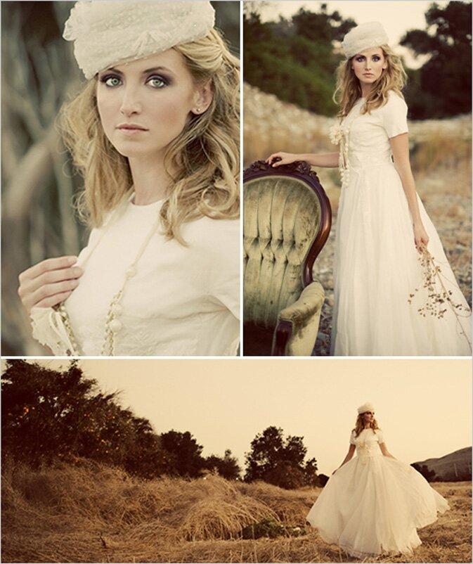 Vintage wedding party dresses Photo - 4