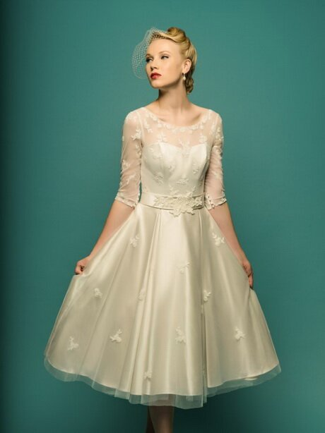 Wedding dresses for 50: Pictures ideas, Guide to buying — Stylish ...