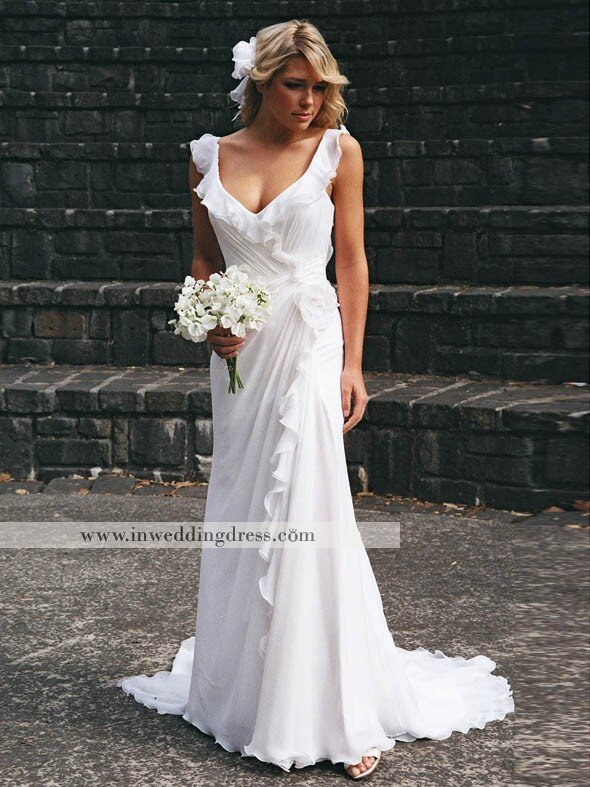 Wedding Dresses For Beach Weddings Pictures Ideas Guide To Buying Stylish