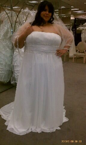 change your style look for something new for yourselves wedding dresses for big girls photo