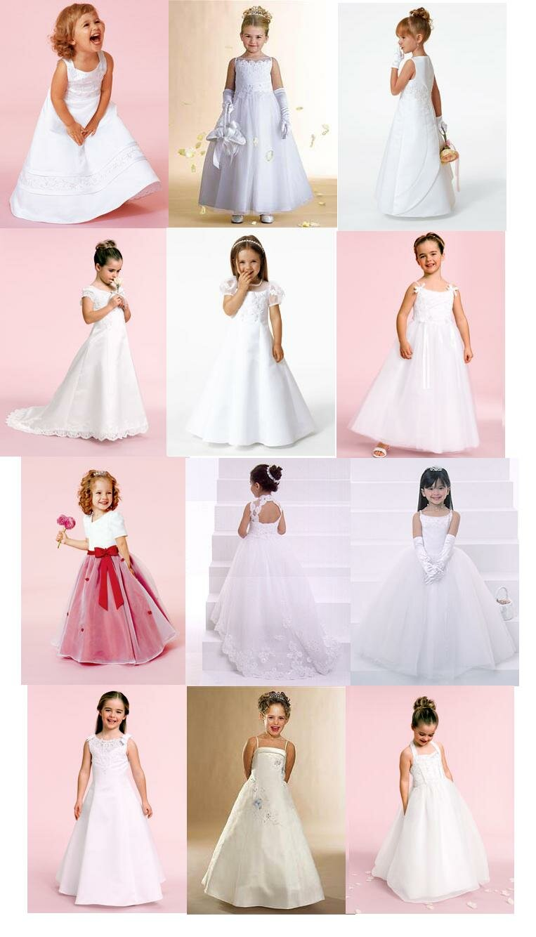 Wedding dresses for children: Pictures ideas, Guide to buying ...