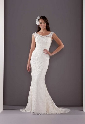Wedding dresses for curvy girls Photo - 5