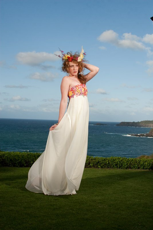 Wedding Dresses For Hawaiian Beach Wedding Pictures Ideas