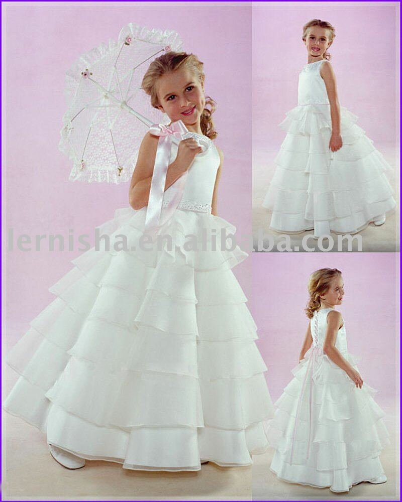 Wedding dresses for kids girls pictures ideas guide to for Dresses for girls wedding