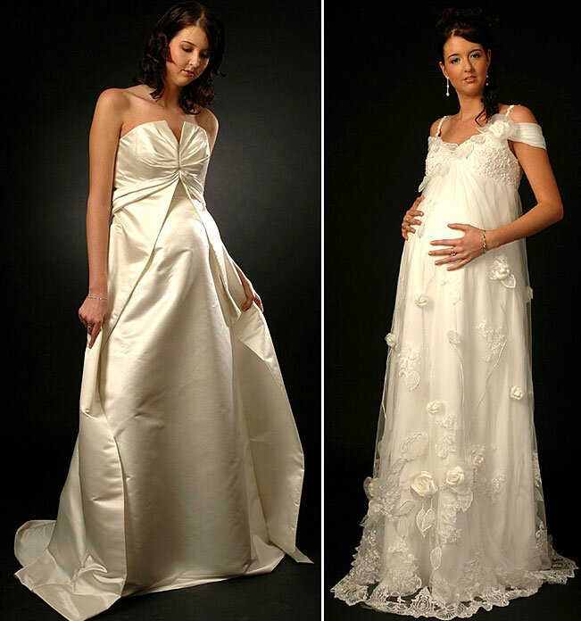 fef36598258 Wedding dresses for pregnant women  Pictures ideas