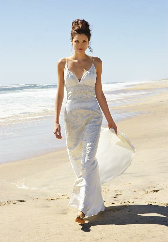 Wedding Dresses For Second Weddings On The Beach Photo