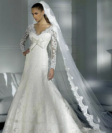 Wedding dresses for winter Photo - 10