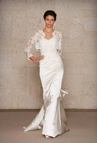 Wedding dresses for women over 40 pictures ideas guide for Wedding dresses women over 40