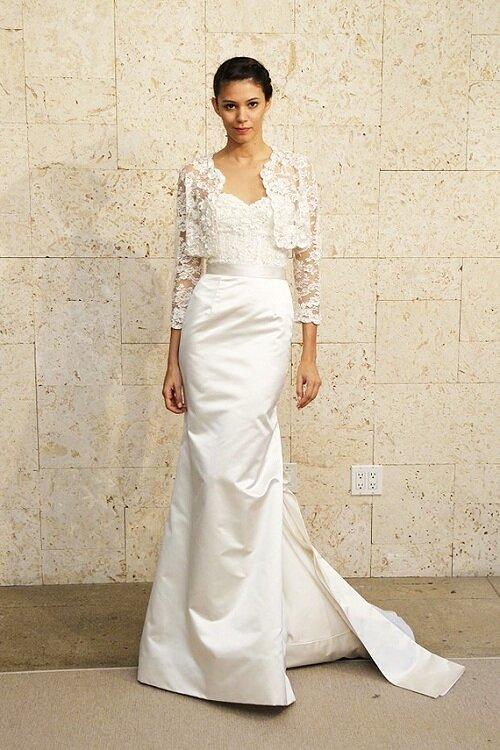 Wedding dresses for women over 40 pictures ideas guide for Wedding dress for 50 year old bride
