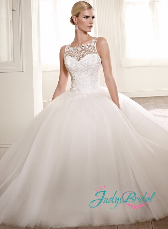 Wedding dresses lace top Photo - 2