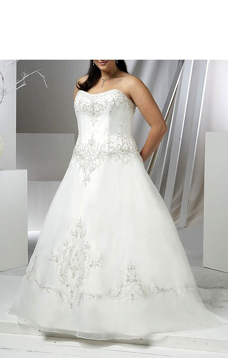 Wedding dresses plus size designer pictures ideas guide for Plus size wedding dress designers