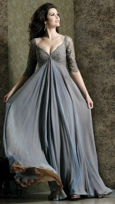 Wedding dresses plus size with sleeves Photo - 3
