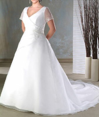 Wedding dresses plus sizes Photo - 1