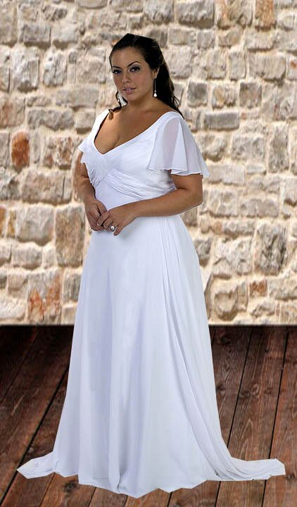 Wedding dresses plus sizes Photo - 10