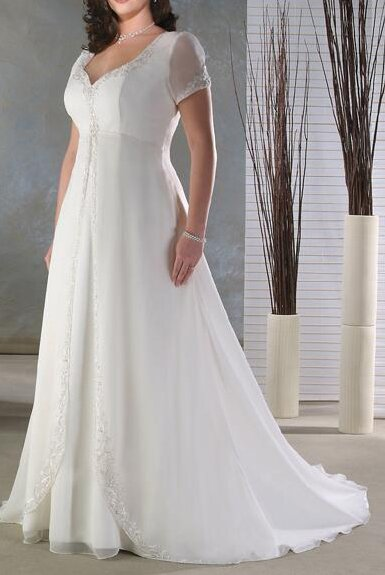 Wedding dresses plus sizes Photo - 4