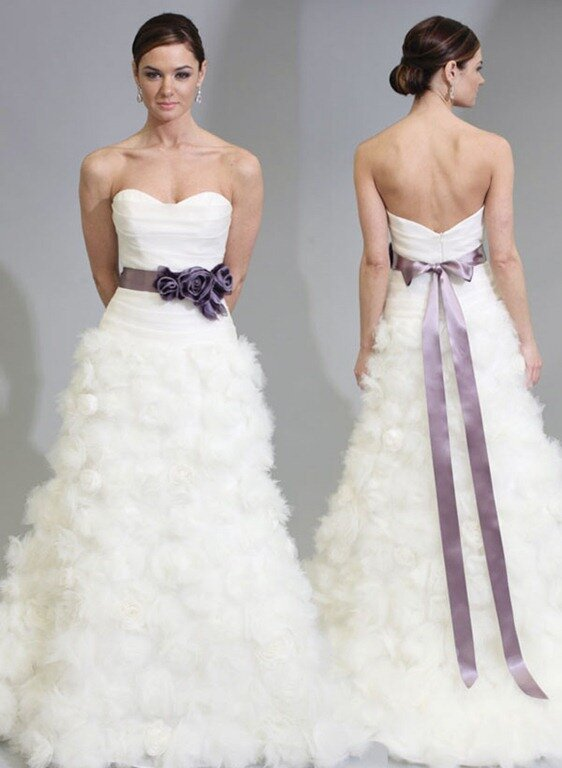 Wedding dresses sash: Pictures ideas, Guide to buying — Stylish ...