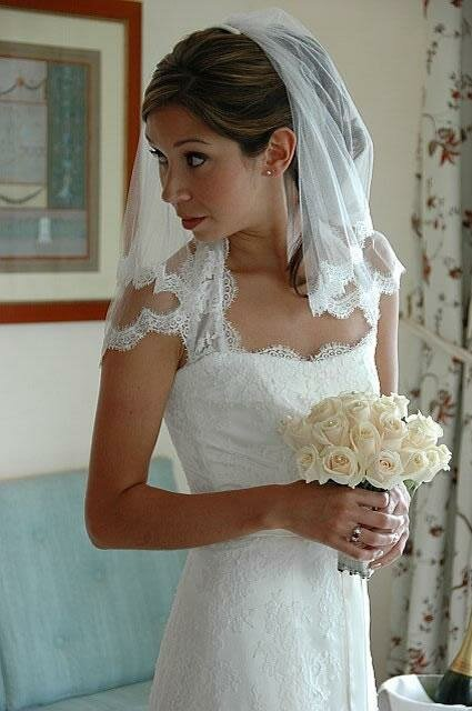 Wedding dresses with lace overlay Photo - 1