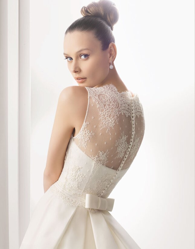 Wedding dresses with lace sleeves Photo - 9