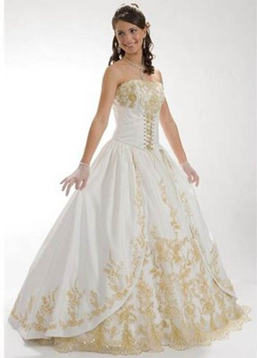 Wedding dresses with lace sleeves Photo - 4
