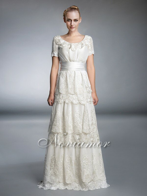 Wedding dresses with lace sleeves Photo - 8