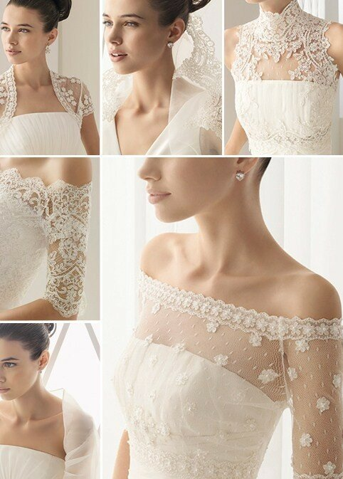 Wedding dresses with lace straps Photo - 10