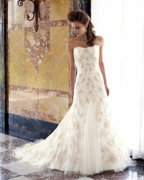 Wedding dresses with sleeves lace Photo - 9