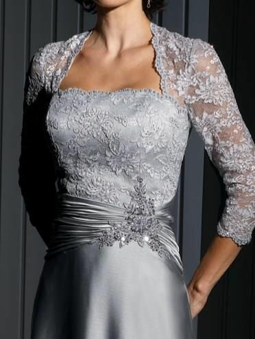 Wedding dresses with sleeves lace Photo - 8