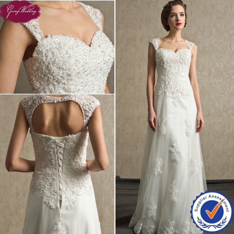 Wedding Dress with Train Simplicity Pattern – Fashion dresses