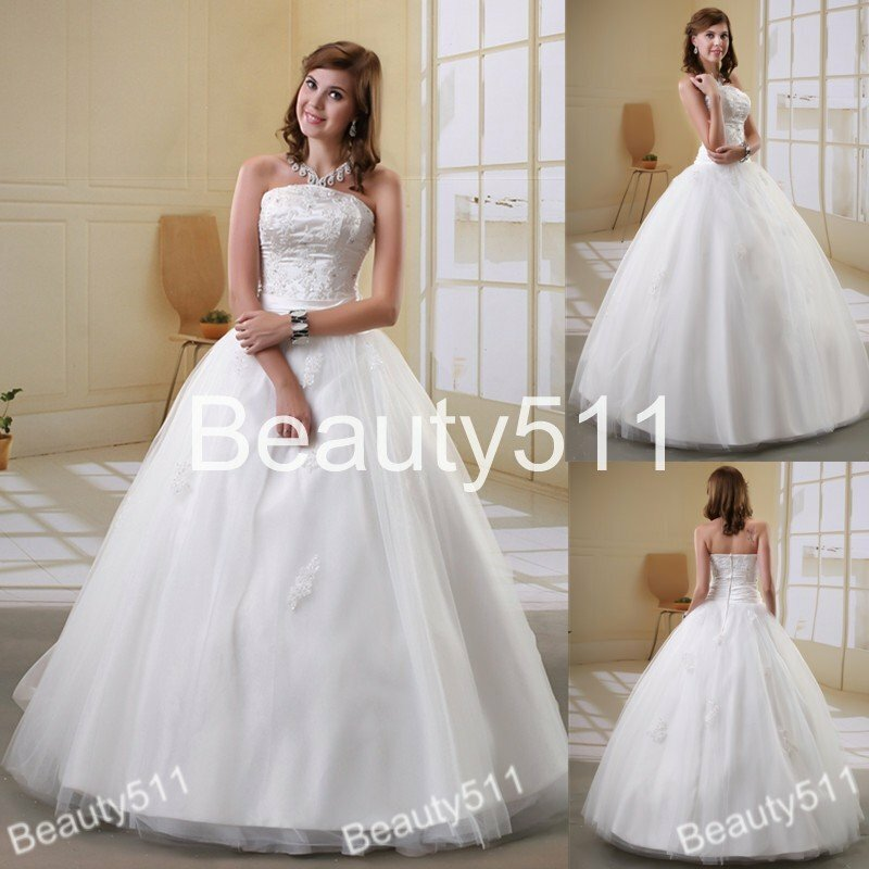 wedding dresses without a train pictures ideas guide to