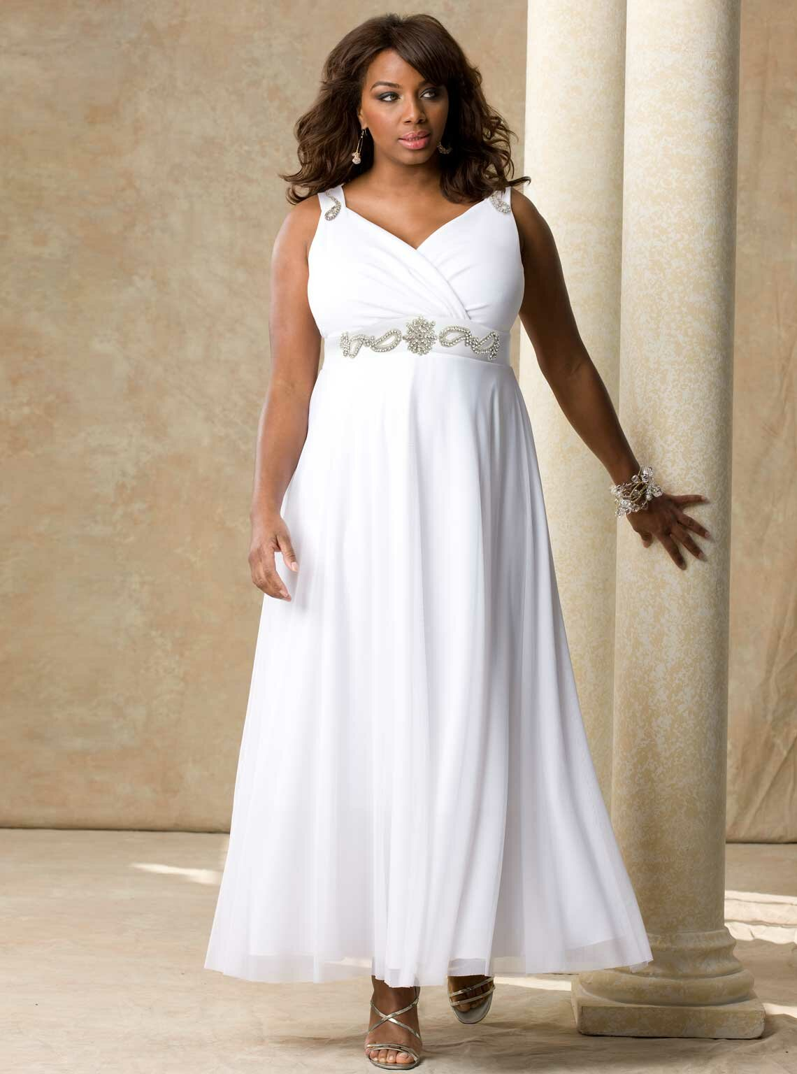 plus size cheap wedding dresses