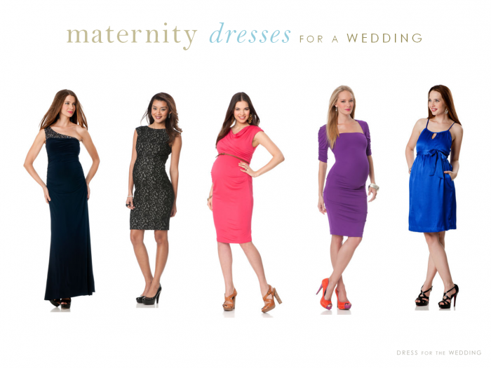 Wedding Guest Maternity Dresses Photo   1