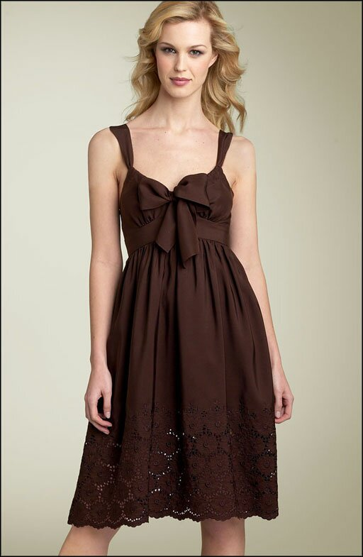 Wedding guests dresses pictures ideas guide to buying for Brown dresses for wedding guest