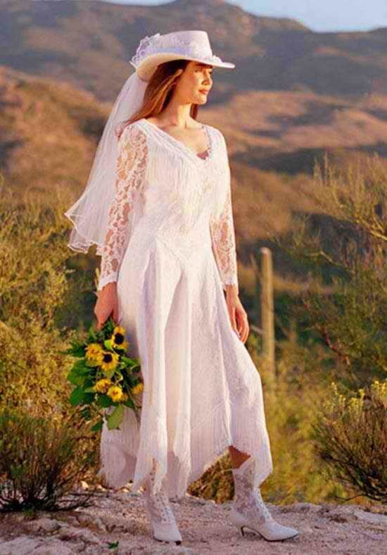 Western lace wedding dresses Photo - 1