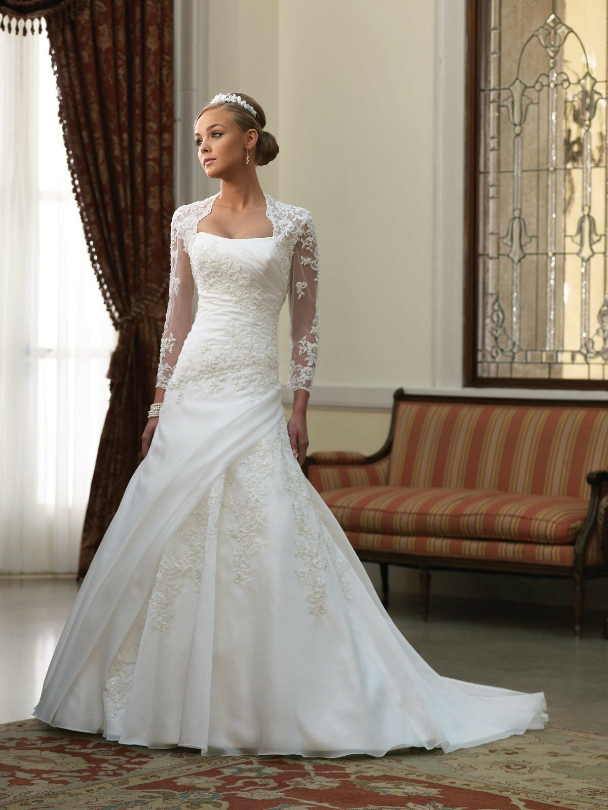 Western lace wedding dresses Photo - 2