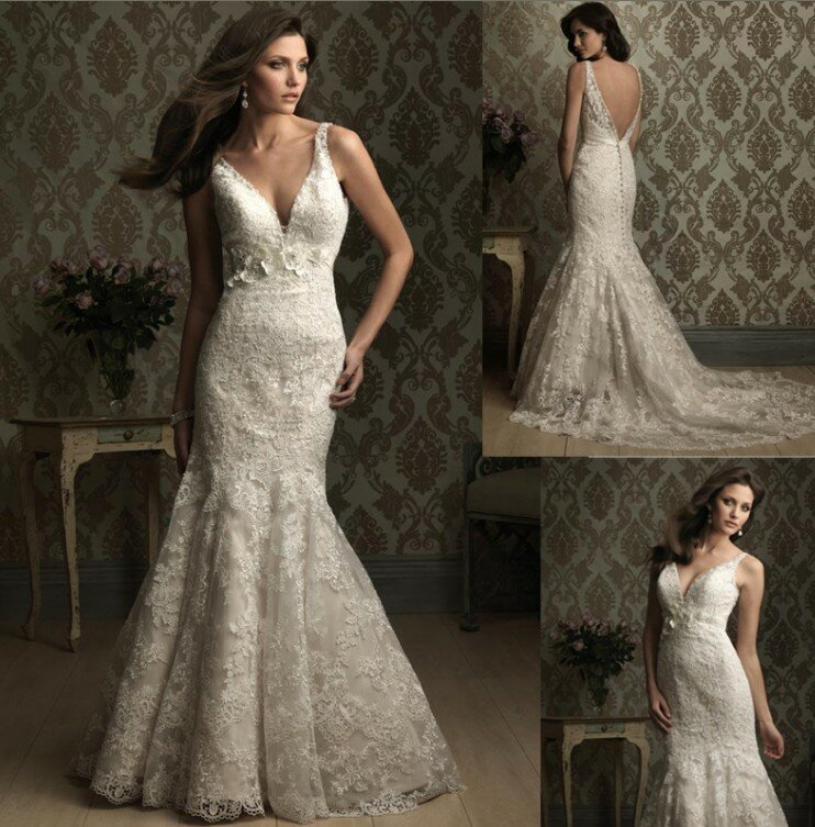 Western lace wedding dresses Photo - 6