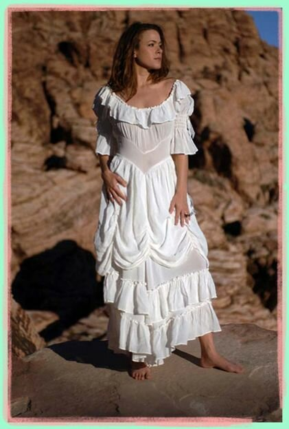 Western lace wedding dresses pictures ideas guide to for Western cowgirl wedding dresses