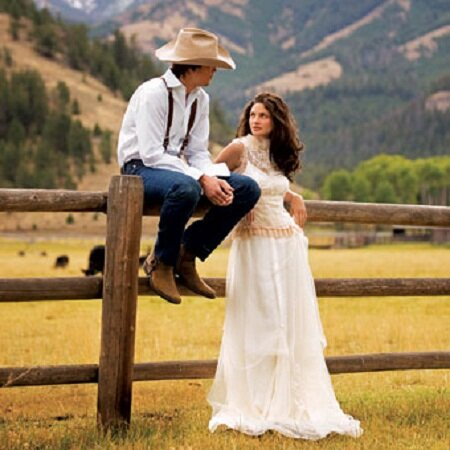 Change Your Style Look For Something New Yourselves Western Wedding Dresses On A Budget