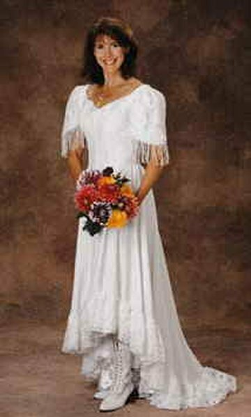 a25c859f6b3 Western theme wedding dresses  Pictures ideas