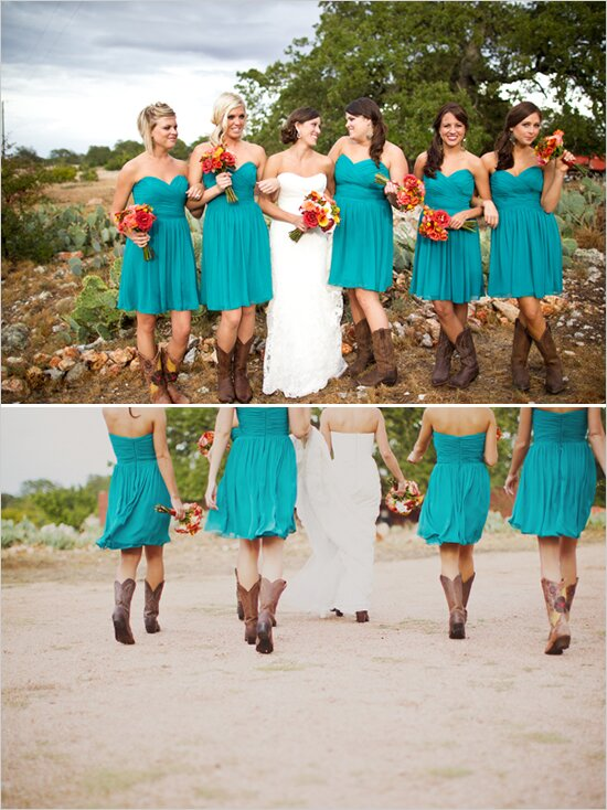 Western wedding bridesmaid dresses Pictures ideas Guide to