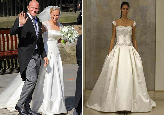 Zara Phillips wedding dresses Photo - 9