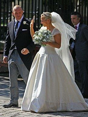 Zara Phillips wedding dresses Photo - 2