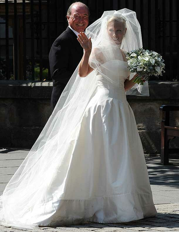 Zara Phillips wedding dresses Photo - 5