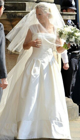 Zara Phillips wedding dresses Photo - 7