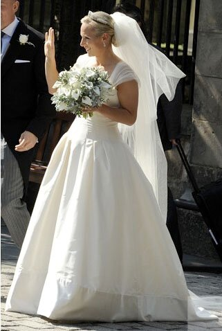 Zara Phillips wedding dresses Photo - 8