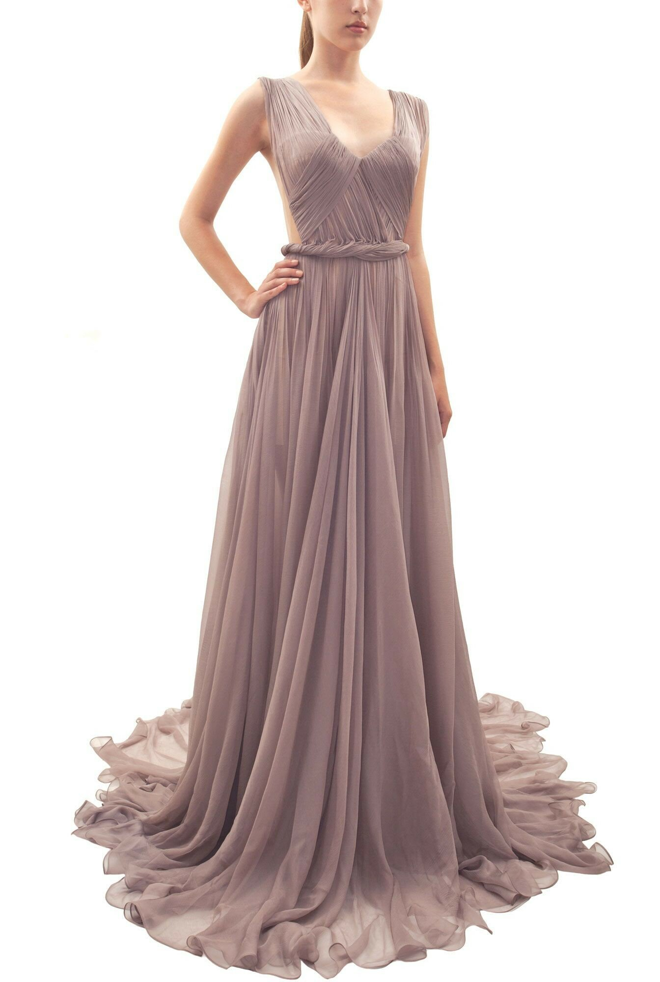 Long evening dresses for wedding photo 2 browse for Dresses for afternoon wedding