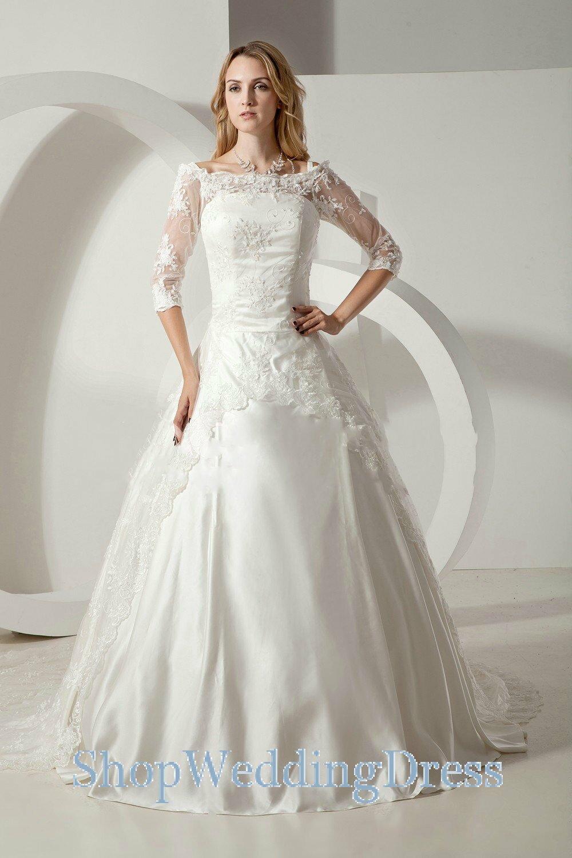 fa129a3e86e Long Sleeve Wedding Dresses Under 500