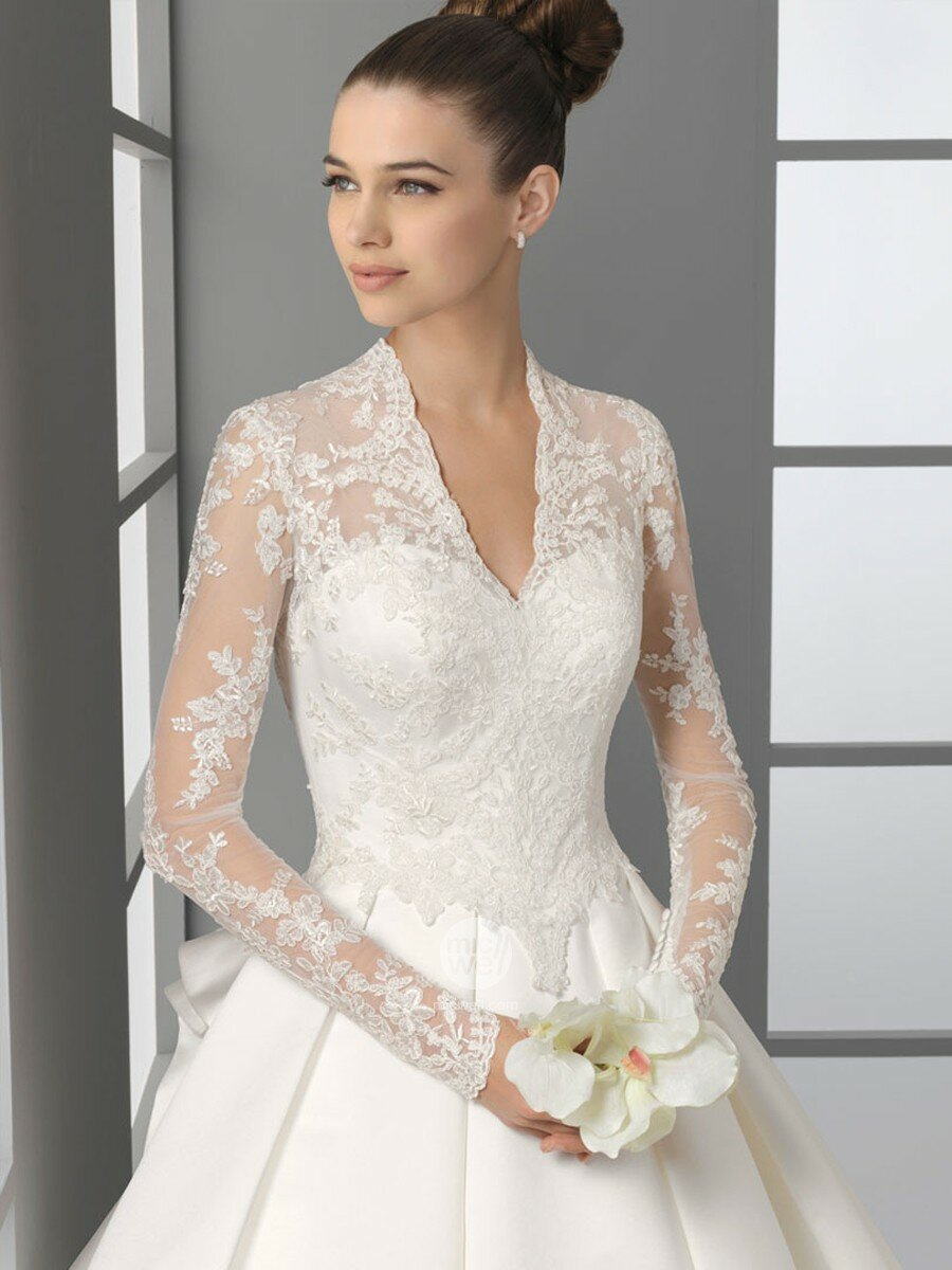 Long to short wedding dress Photo - 4