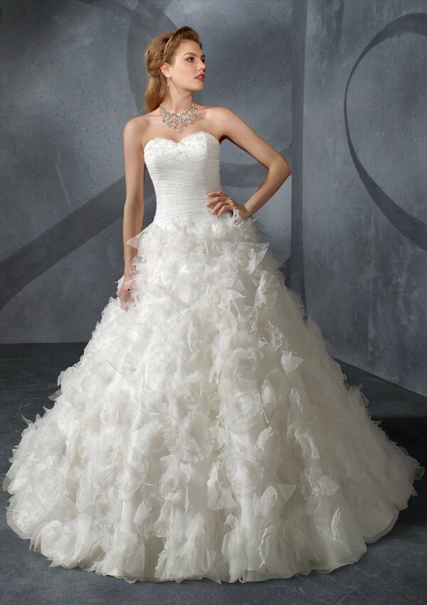 Long to short wedding dress Photo - 7