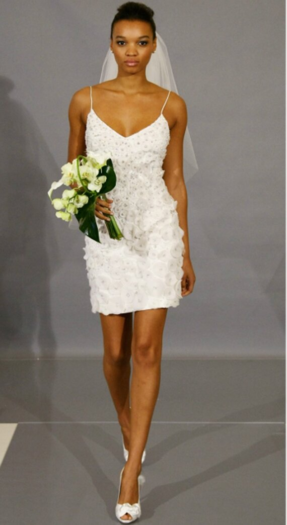 Long to short wedding dress Photo - 8