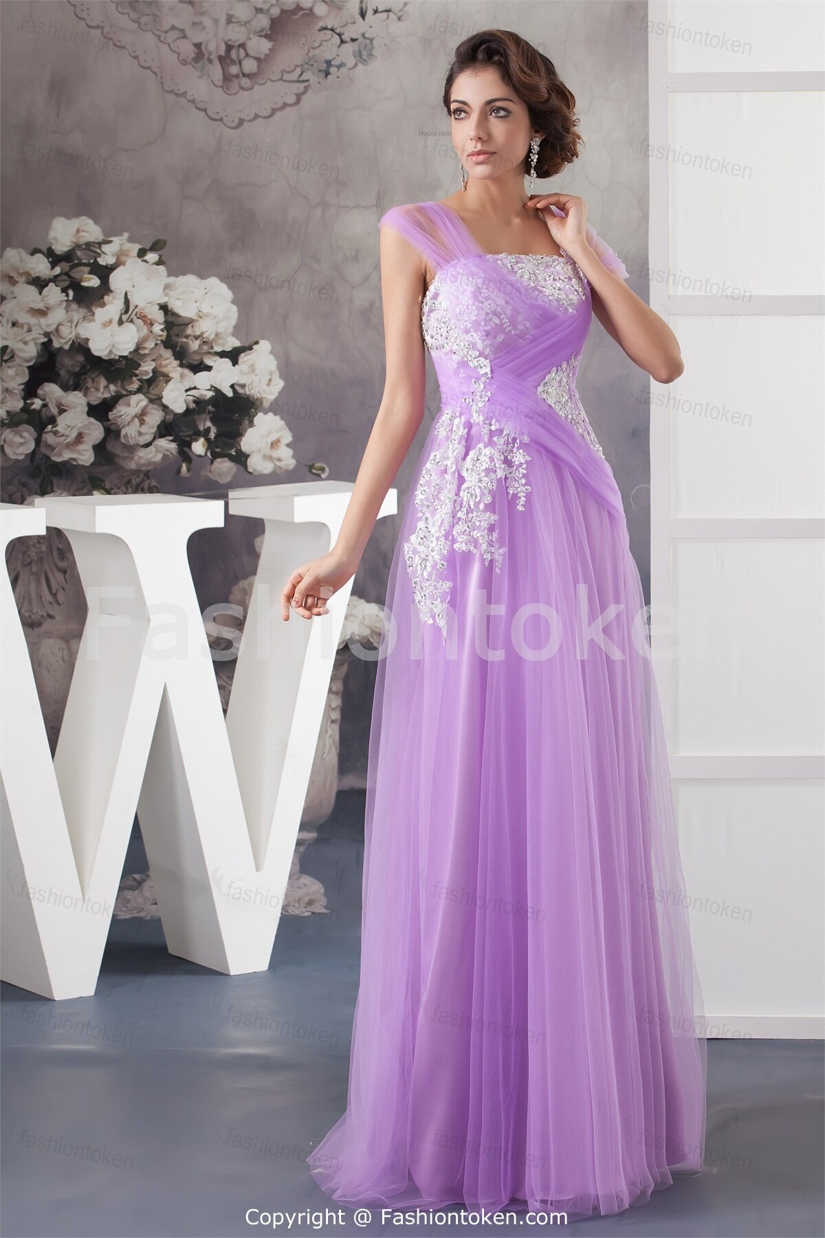 Light purple wedding dresses pictures ideas guide to for Light purple wedding dress